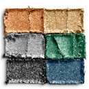 NYX Professional Makeup Love Lust & Disco Let's Groove Foil Play Shimmer Eyeshadow Palette
