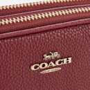 Coach Women's Polished Pebble Leather Sadie Bag - Deep Red