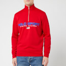 Polo Sport Ralph Lauren Men's Long Sleeve Quarter Zip - RL2000 Red