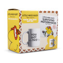 Little Miss Busy Book and Mug Gift Set - Motherhood
