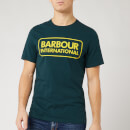 Barbour International Men's Essential Large Logo T-Shirt - Benzine