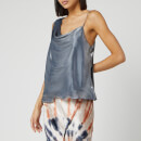 Free People Women's Shimmy Shimmy Tank Top - Silver