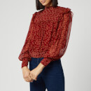 Free People Women's Roma Blouse - Red