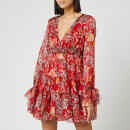 Free People Women's Closer To The Heart Mini Dress - Red