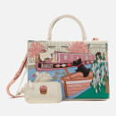 Radley Women's Little Venice Medium Ziptop Multiway Grab Bag - Chalk