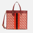 Coach 1941 Women's Coated Canvas Field Tote Bag 40 - Red