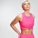 MP Power Dames Crop Top - Super Pink - L