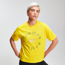 Myprotein Power Damen Graphic T-Shirt - Buttercup