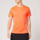adidas Men's Own the Run Short Sleeve T-Shirt - Solar Red