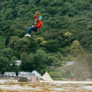 Zip Line Over the Surf Lagoon for Two at Adventure Parc Snowdonia