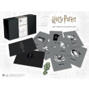 Harry Potter Dark Arts Pin Badge and Art Cards Set