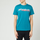 Reebok Men's Myt Short Sleeve T-Shirt - Seaport Teal
