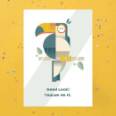 Toucan Do It Greetings Card