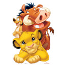 Lion King Group (Simba, Timon and Pumbaa) Life Size Cut-Out