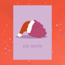 Berry Christmas Greetings Card