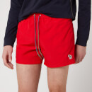 PS Paul Smith Men's Zebra Swim Shorts - Red