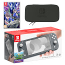 Nintendo Switch Lite (Grey) ASTRAL CHAIN Pack