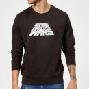Star Wars The Rise Of Skywalker Trooper Filled Logo Sweatshirt - Black