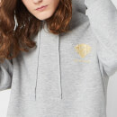 Harry Potter Gryffindor Unisex Embroidered Hoodie - Grey