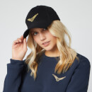 Harry Potter Golden Snitch Embroidered Cap - Black