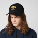 Harry Potter Hufflepuff Embroidered Cap - Black