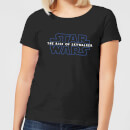 Star Wars The Rise Of Skywalker Logo Women's T-Shirt - Black