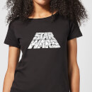 Star Wars The Rise Of Skywalker Trooper Filled Logo Women's T-Shirt - Black