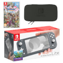 Nintendo Switch Lite (Grey) DRAGON QUEST XI S: Echoes of an Elusive Age Pack