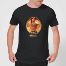 The Mandalorian Cara Dune Framed Men's T-Shirt - Black