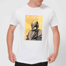 The Mandalorian Art Poster Men's T-Shirt - White