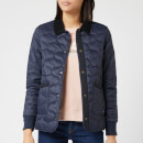 Barbour Women's Modern Country Hallie Quilted Jacket - Navy