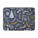 Winter Leaves Bath Mat