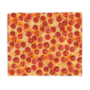Pepperoni Pizza Fleece Blanket