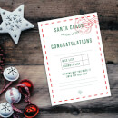 Santa Claus Official Letter Art Print - A4