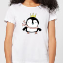 Christmas Penguin Women's T-Shirt - White