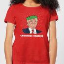 Christmas Trumper Women's T-Shirt - Red
