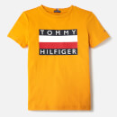 Tommy Hilfiger Boys' Essential T-Shirt - Golden Glow