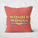 DC Cushions Retro Wonder Woman DC 40x40cm Square Cushion Square Cushion