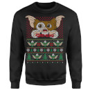 Gremlins Ugly Knit Christmas Sweatshirt - Black