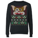Gremlins Ugly Knit Women's Christmas Sweatshirt - Black