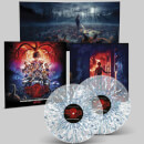 Stranger Things 2 (A Netflix Original Series Soundtrack) Blue and White Splatter Clear LP