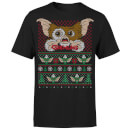Gremlins Ugly Knit Men's Christmas T-Shirt - Black
