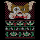 Gremlins Ugly Knit Women's Christmas T-Shirt - Black