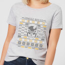 Batman I Do Not Smell Women's Christmas T-Shirt - Grey