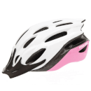 Raleigh Mission Evo Cycling Helmet - White/Pink