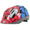 Raleigh Mystery Spiderman Cycle Helmet - Blue/Red
