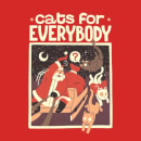 Tobias Fonseca Cats For Everybody Sweatshirt - Red