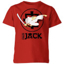 Samurai Jack They Call Me Jack Kids' T-Shirt - Red
