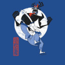 Samurai Jack Eternal Battle Women's T-Shirt - Royal Blue