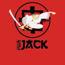 Samurai Jack They Call Me Jack Hoodie - Red